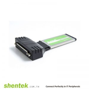 1 port Parallel ExpressCard,
