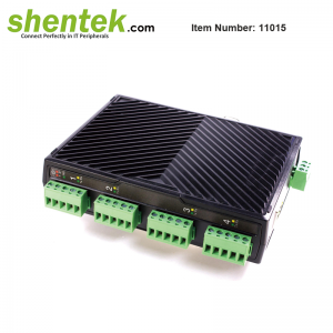 Serial Over LAN IP device Server 4 port RS485
