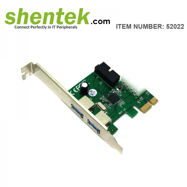 shentek-52021-2-port-USB-3.0-2-port-Internal-PCI-Express-PCIe-Card