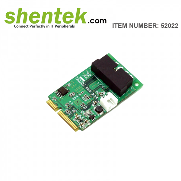 shentek-52022-2-port-internal-USB-3.0-Mini-PCI-Express-PCIe-Card