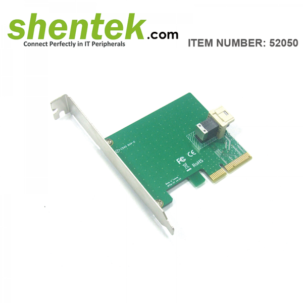 U.2 NVMe SFF8643 SFF8639 PCIe Card