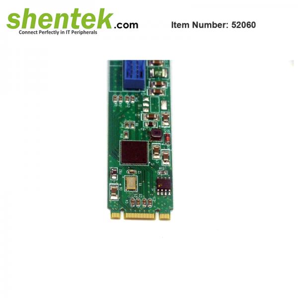 shentek-52060-USB-3.1-Gen2-10G-Embedded-Card