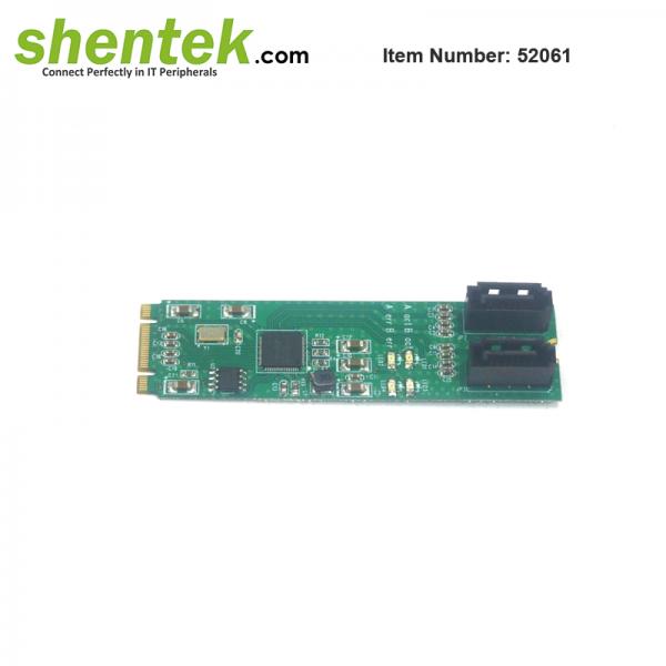 shentek-52061-embedded-2-port-SATA-M2-card