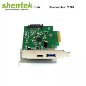 USB-A USB-C USB 3.1 PCIe card