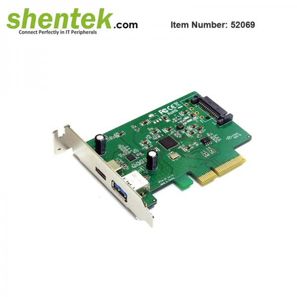 shentek-52069-USB3.1-PCI-Exprss-Card