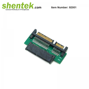 SATA 22 pin to Micr SATA 16 pin Adapter