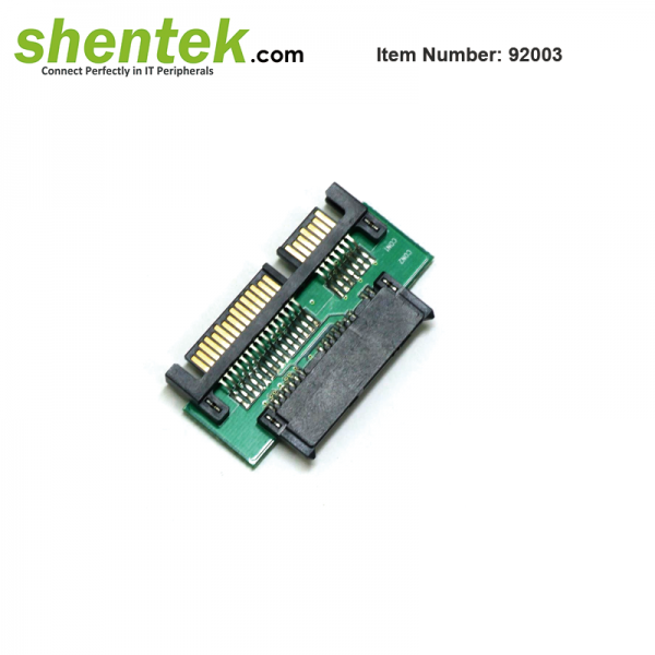 Slim SATA to SATA 22 pin Adapter