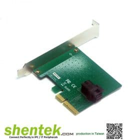 SFF-8643 SFF-8639 PCI Express Card