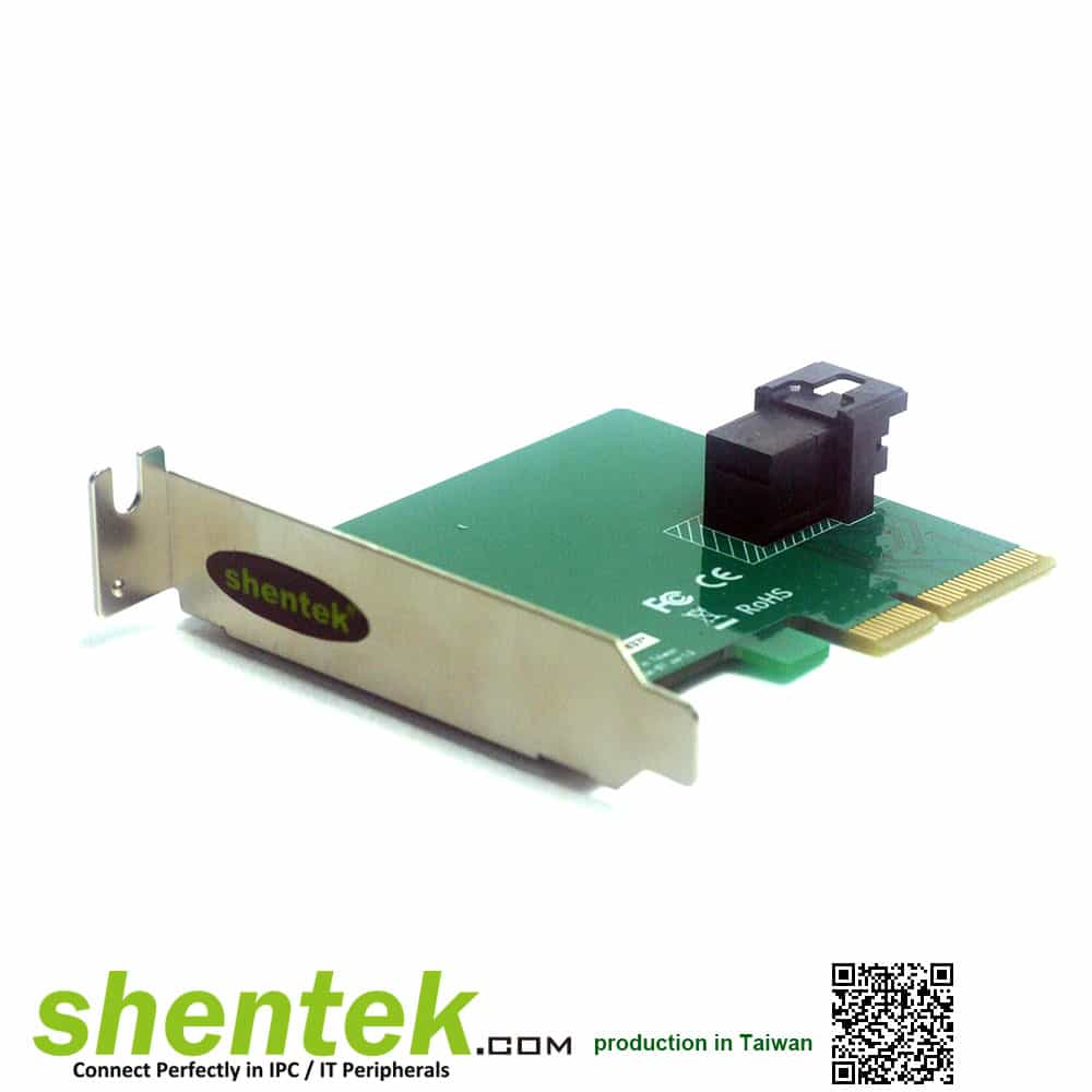 U.2 Low Profile PCI Express Card