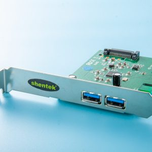 Shentek 2 port Super-Speed+ USB 10G (USB 3.1 Gen 2) A type PCI Express x1 lane Card