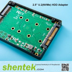 "2.5"" 9mm NVMe U.2 HDD Adpater"